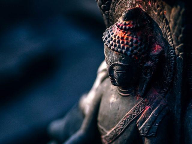 仏教について学んでいます